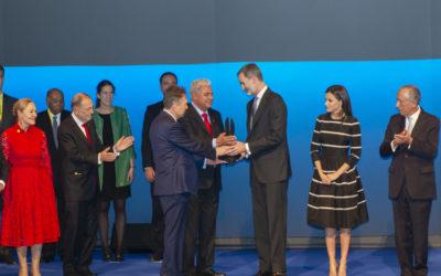 El Rey Felipe VI recibe el World Peace and Liberty Award